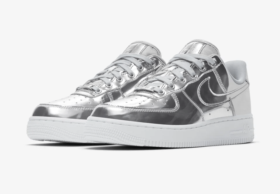 Nike Air Force 1 'Metallic Chrome'December 13, 2019