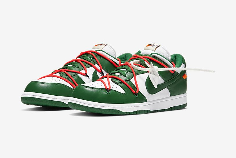 Release Date: Off-White x Nike Dunk Low 'Pine Green'