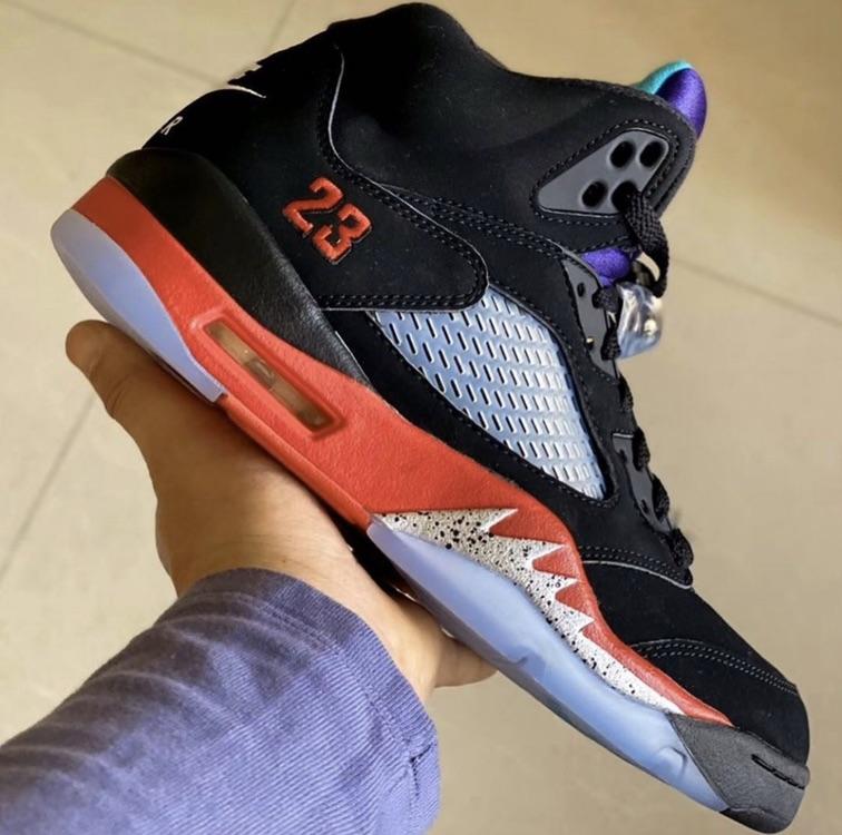 Release Date: Air Jordan 5 'Top 3'