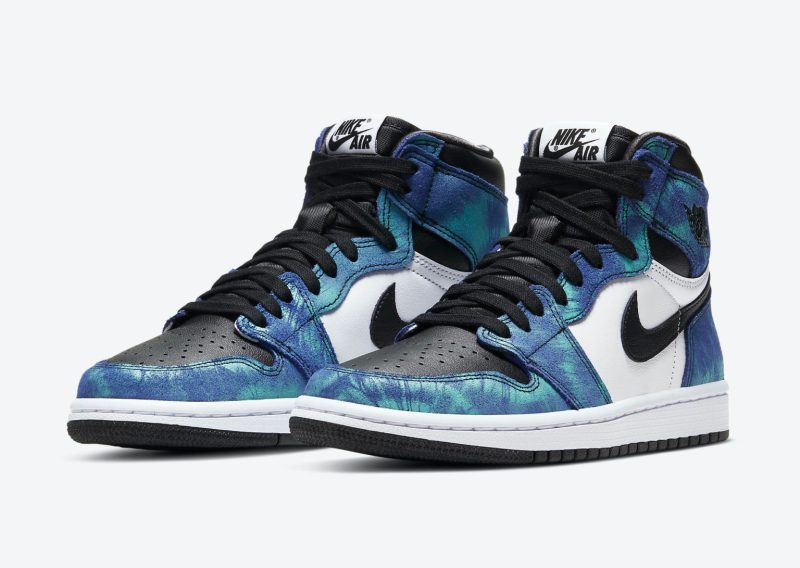 Women's Air Jordan 1 High Tie-Dye