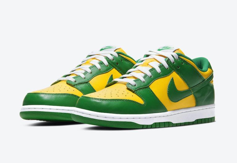 Release Date: Nike Dunk Low 'Brazil'