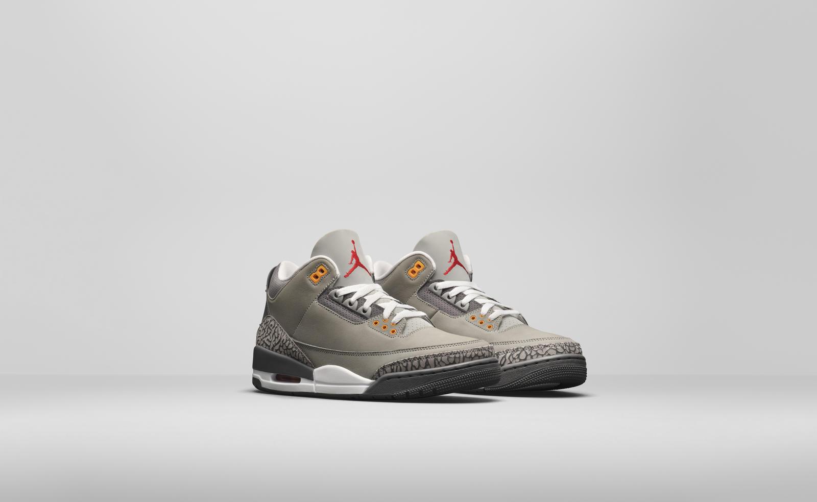Air Jordan 3 'Cool Grey'January 30, 2021