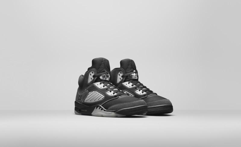 Air Jordan 5 Wolf Grey/Anthracite
