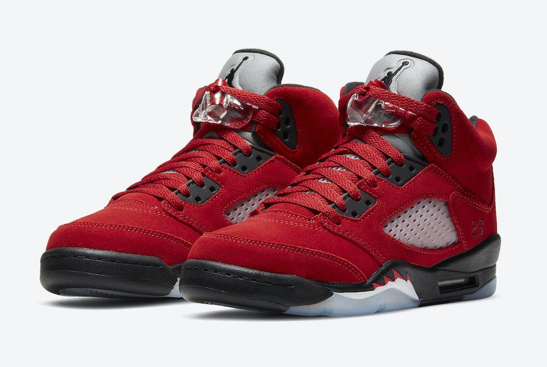 Release Date: Air Jordan 5 'Raging Bulls'