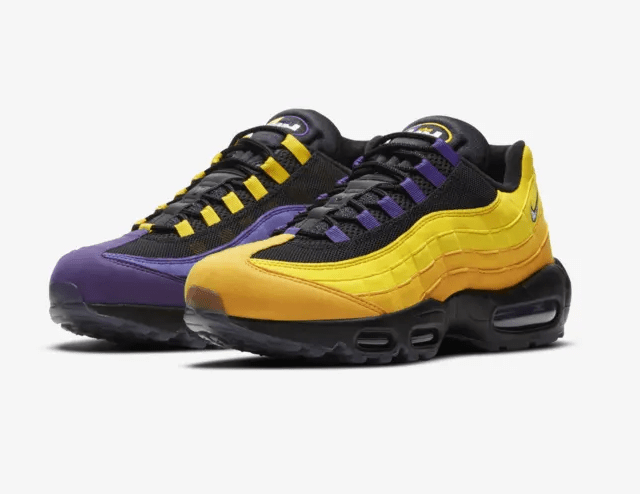 LeBron x Nike Air Max 95 Home Team
