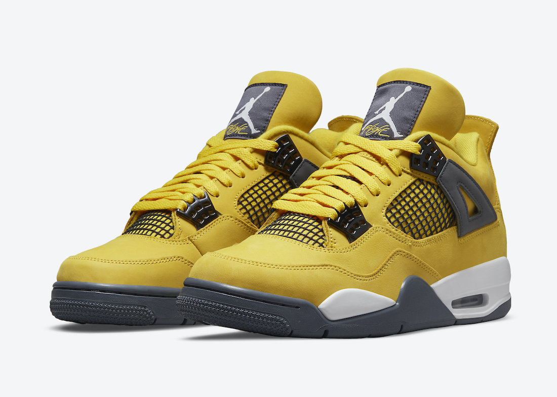 Release Date: Air Jordan 4 'Lightning'