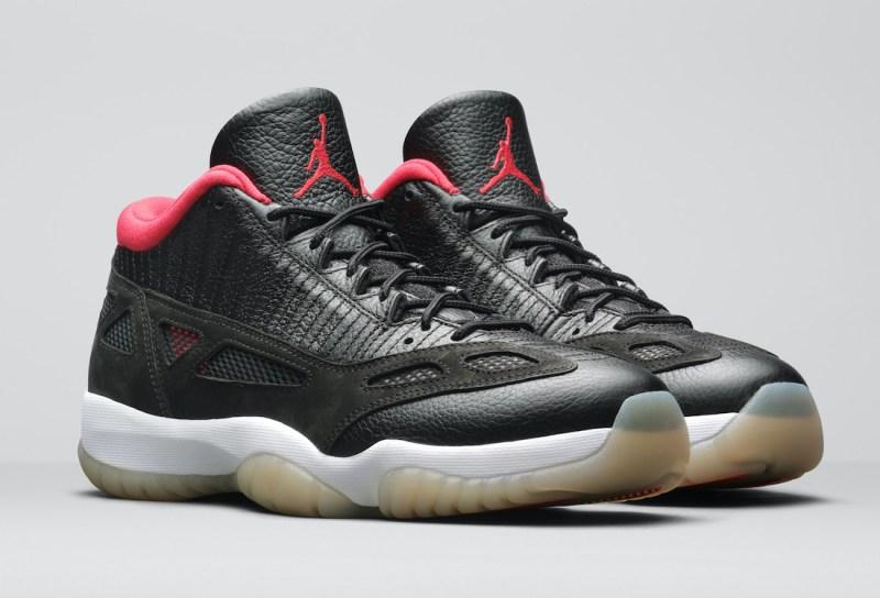 Air Jordan 11 Low IE Black/Red