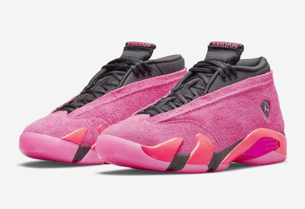 Release Date: Women's Air Jordan 14 Low 'Shocking Pink'