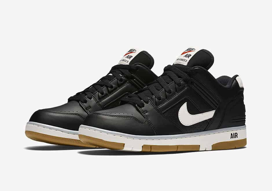 Nike Air Force 2 Low All-Black