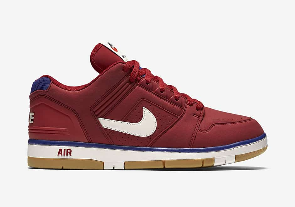 Nike Air Force 2 Low Gym Red