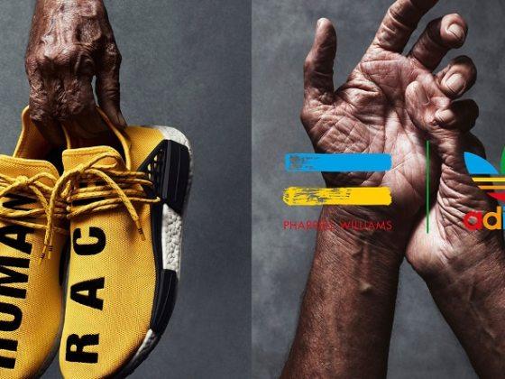"adidas X Pharrell ""Human Race"" yellow"