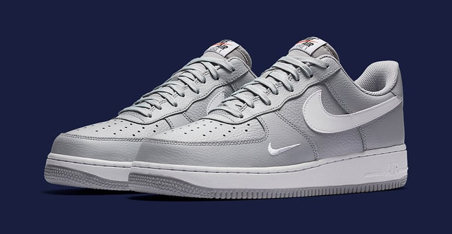 Nike Air Force 1 Mini Swoosh Grey