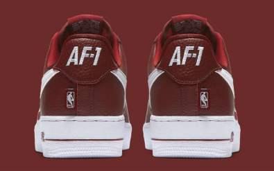 Nike Air Force 1 Statement Game Pack burundy