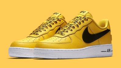 Nike Air Force 1 Statement Game Pack yellow