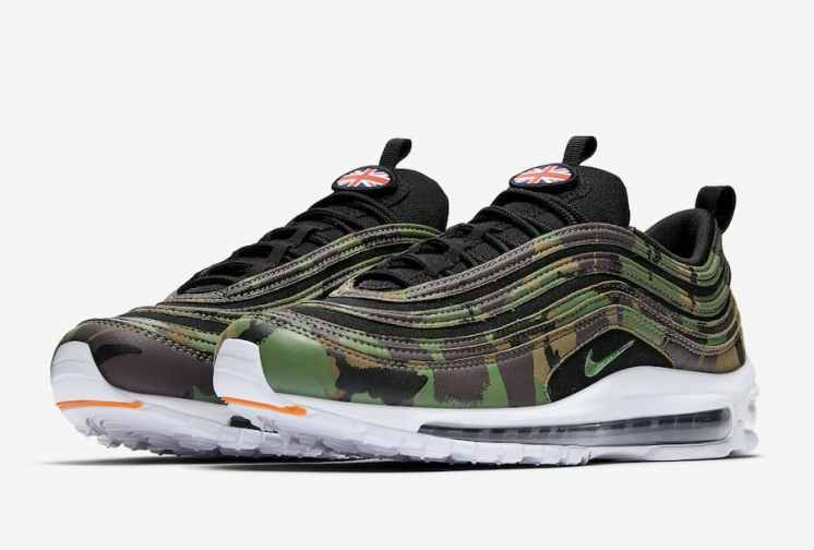 Nike Air Max 97 Country Camo Angleterre AJ2614-201