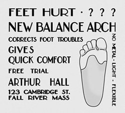 The New Balance Arch Support Company