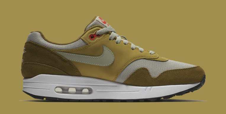 atmos x Nike Air Max 1 Green Curry