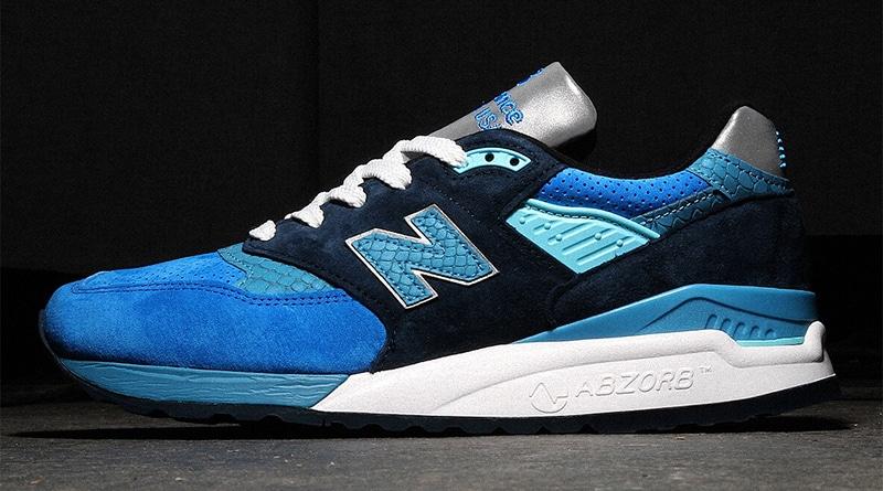 New Balance 998 Blue/Navy