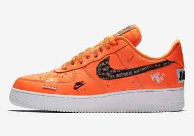 "Nike Air Force 1 ""Just Do It"" Orange"