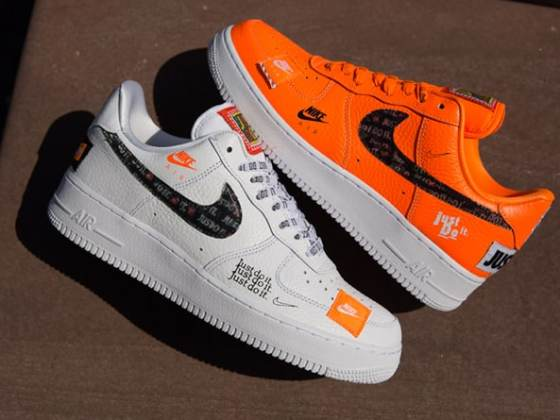 """Nike Air Force 1 """"Just Do It"""" Pack"""