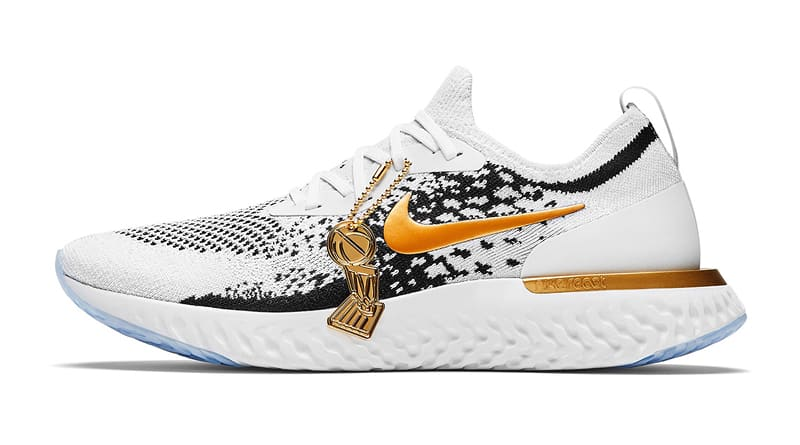 Nike React Epic Flyknit Golden State Warriors PE