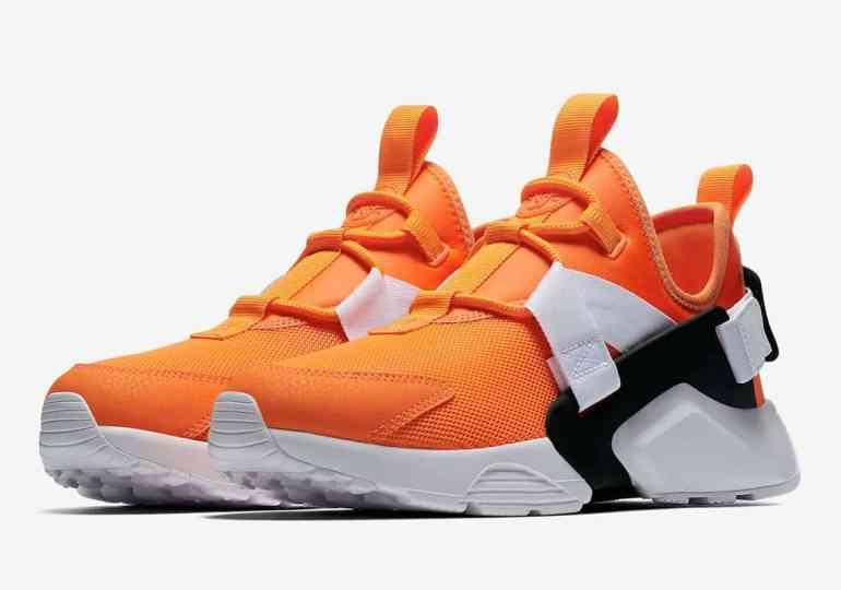 Nike Huarache City Low « Just Do It » orange