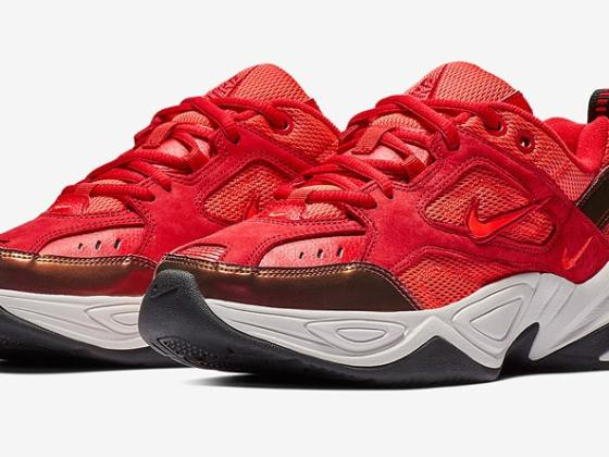 Nike M2K Tekno Wmns ''Red Suede''