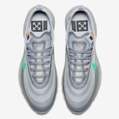 Off-White x Nike Air Max 97 Menta