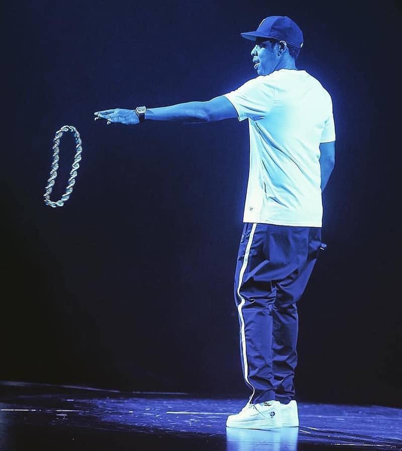 """Jay-Z et ses AF1 """"Roc-A-Fella"""""""