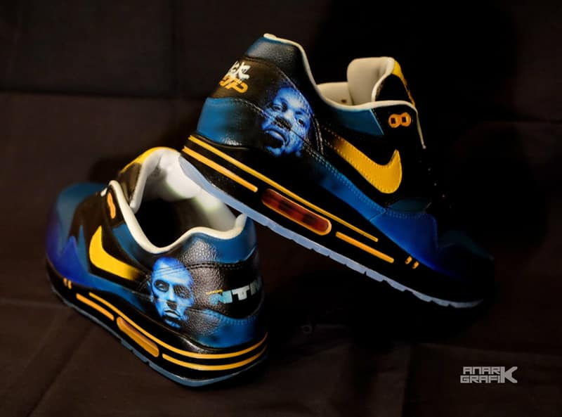 "Nike Air Max 1 custom ""NTM"" by Anark Graphik"
