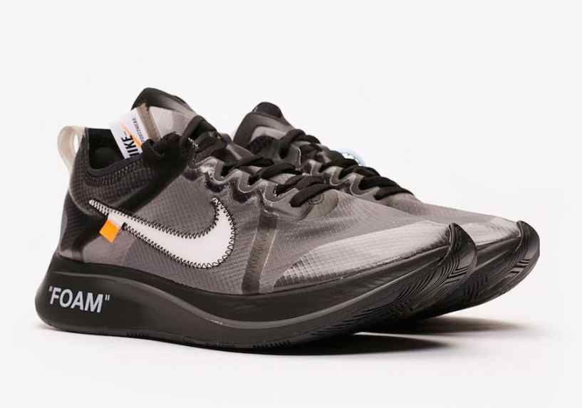 Off-White x Nike Zoom Fly SP ''Black''