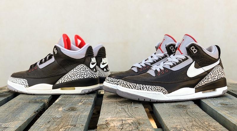 Air Jordan 3 Tinker ''Black Cement''