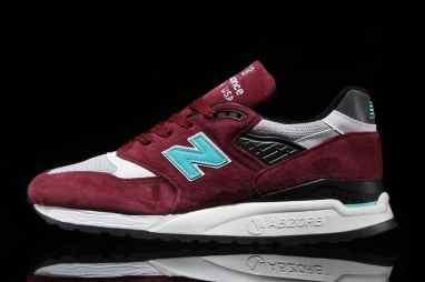 New Balance 998 ''Burgundy/White''
