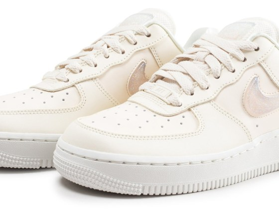 Nike Air Force 1 ''Jelly Swoosh'' Ivoire