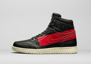 Air Jordan 1 Retro High OG Couture ''Defiant'' ''Black/Gym Red''