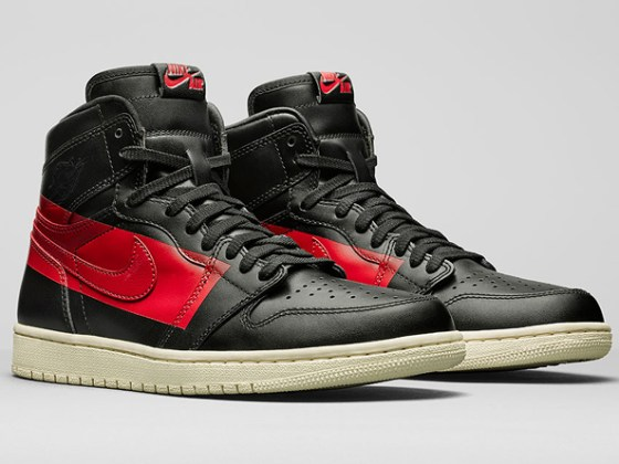 Air Jordan 1 Retro High OG Couture ''Defiant'' ''Black/Gym Red''
