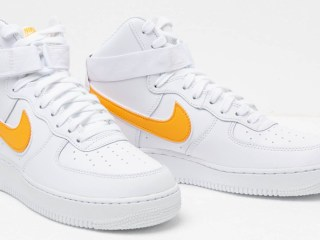 Nike Air Force 1 High '07 3 ''White/University Gold''