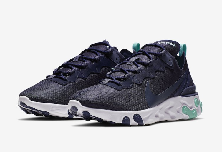 Nike React Element 55 ''Dark Obsidian''