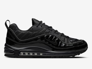 SUPREME x Nike Air Max 98 ''Black''
