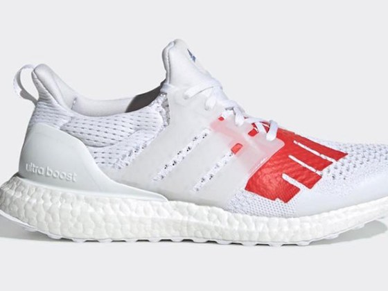 Undefeated x adidas Ultraboost ''White/Red-Blue''