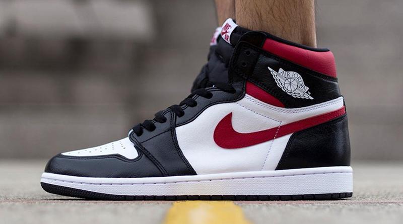 Air Jordan 1 Retro High OG ''Black/Gym Red''