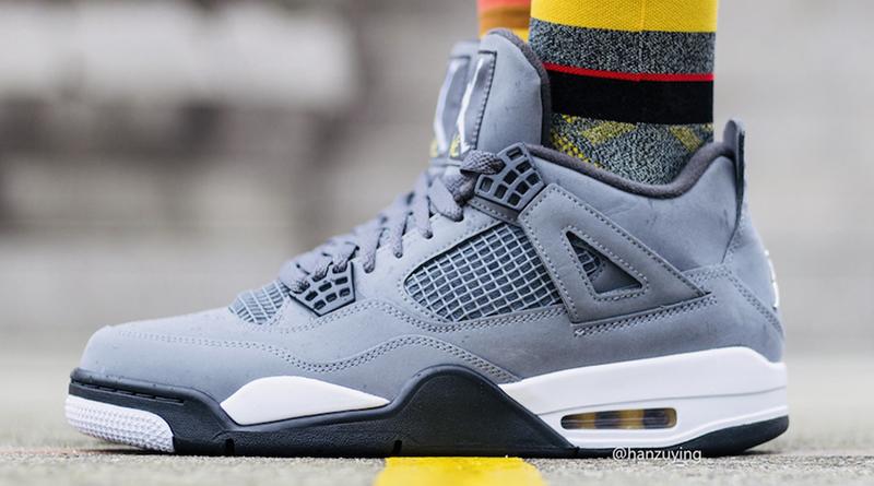 Jordan Sneaker ''cool Air Style Grey'' 4 PwXiTlkZOu
