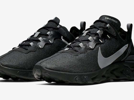 Nike React Element 55 ''Black/Anthracite''