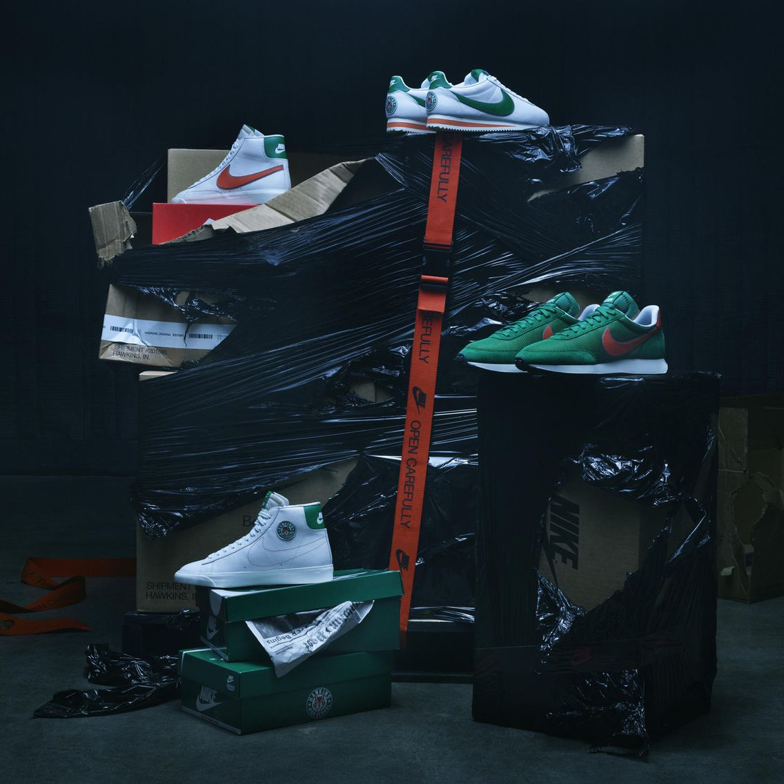 Stranger Things x Nike ''Hawkins High''