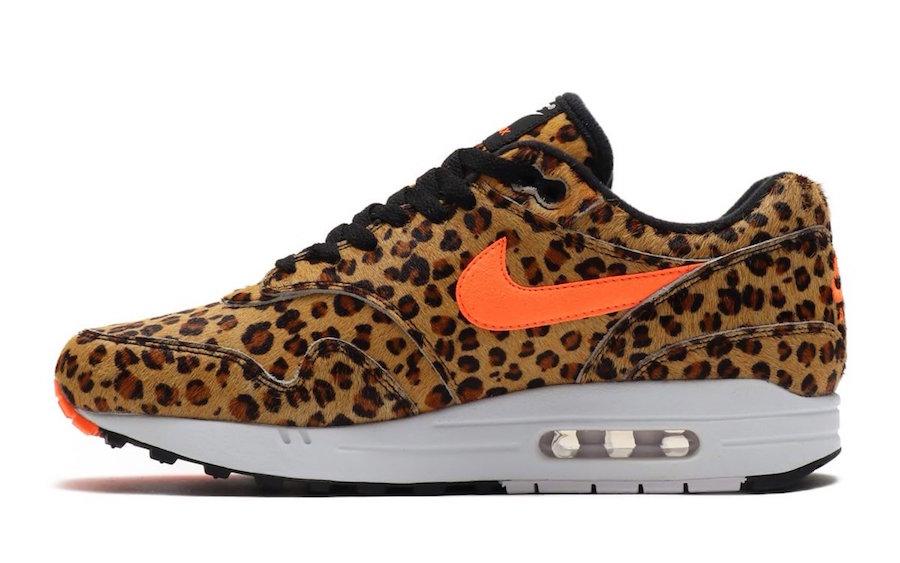 """atmos x Nike Air Max 1 DLX ''Animal'' Pack - """"Leopard"""""""