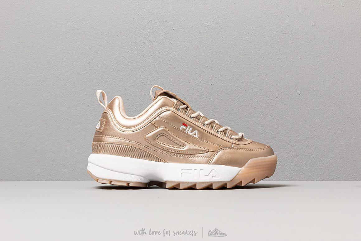 ''gold'' Disruptor Sneaker M Style Fila Low Wmn K3FTl1cJ