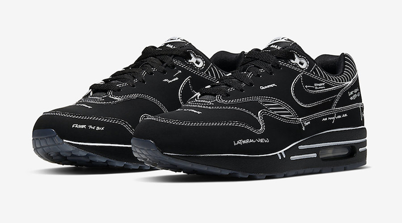 Sneaker Air Style Nike Tinker ''schematic'' Black Max 1 8kwOPn0