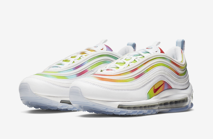 Nike Air Max 97 ''Tie-Dye'' - White ''Chicago''