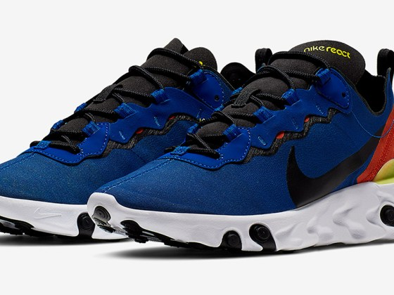 Nike React Element 55 ''Game Royal''