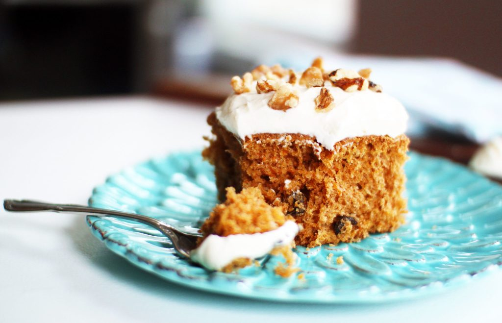 Classic Carrot Cake with Mascarpone Cheese Frosting